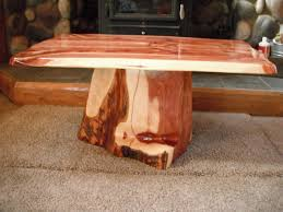 engaging image of unique living room furniture with tree trunk coffee table enchanting picture of