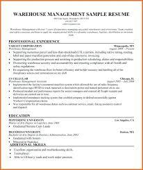 Sample Resume For Logistics Supervisor