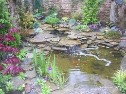 Small Picture Licius Small Garden With Pond And Stone Design Radioritascom
