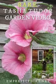 tasha tudor and her garden garden tour