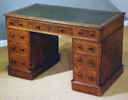 antique desk furniture uk. antique walnut pedestal desk furniture uk e