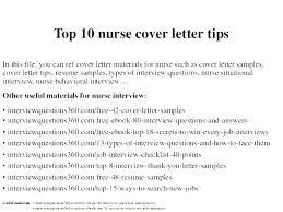Nursing Resume Cover Letter Examples Nursing Cover Letter For Resume