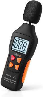 Decibel Meter With Warning Light Decibel Meter Tacklife Digital Sound Level Meter 30 130db A Range With Sound Simulation Max Min Data Hold Fast Slow Mode Self Calibration Noise