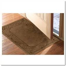 Door Rugs Low Profile Rug On Kitchen Blue Area For Designs 9 Front