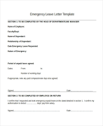 25 Leave Letter Templates Pdf Doc Free Premium Templates