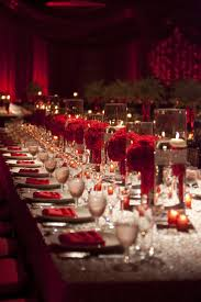 red and silver table decorations. Pzazz Red Hot Holiday Decor And Silver Table Decorations I