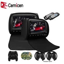 9 inch car displayer ultra thin monitor portable dvd flip down roof mount reversing image durable