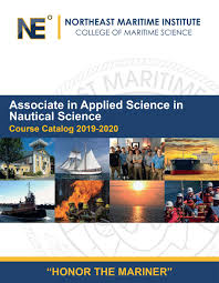 2019 2020 Northeast Maritime Institute College Catalog By
