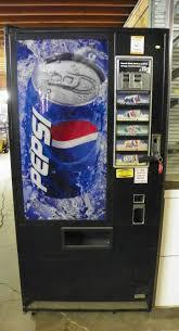 Pepsi Vending Machines Fascinating Used Pepsi Vending Machine Pete's Restaurant Equipment