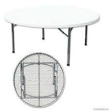 12 seater round folding tables