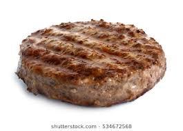 hamburger patty clipart. Wonderful Patty Single Grilled Hamburger Patty Isolated On White With Hamburger Patty Clipart W