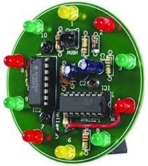 velleman mk102 flashing leds kit amazon com industrial scientific velleman mk152 spinning led wheel minikit