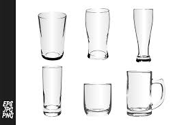 All contents are released under creative commons cc0. Drinking Glass Vector Bundle Graphic By Arief Sapta Adjie Creative Fabrica