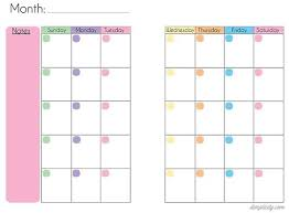 Mini Binder Love And Calendar Printable Planner Pages