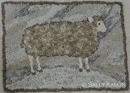 pine island primitives animal design rug hooking designs by sally kallin