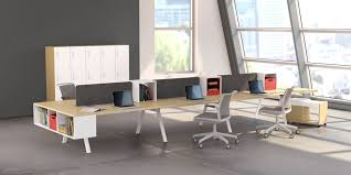 contemporary modular furniture. hereu0027s another view of what modern modular workstations can do to perk up your corporate or studio office design we love the spacesaving resource contemporary furniture