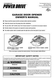 chamberlain garage door opener manualDownload Chamberlain LW3000 Owners Manual for Free  ManualAgent