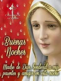 Pin de Martha Susana Ariza en Virgen Maria y santos del cielo en 2020 |  Buenas noches dulces sueños, Mensajes de buenas noches, Buenas noches
