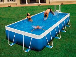 above ground swimming pools cost. Wonderful Swimming Aboveground Swimming Pool  Polyester Tubular Outdoor  AZUR 2000 Throughout Above Ground Swimming Pools Cost O