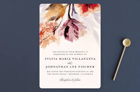 grecian floral wedding invitations by olivia kanaley minted