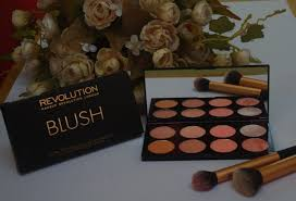 makeup revolution ultra blush palette hot e review sushmita s diaries