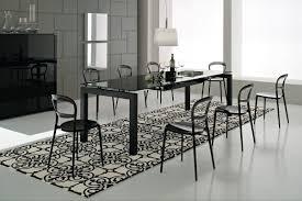 glass round dining table australia
