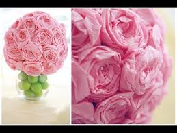Make Tissue Paper Flower Balls Diy Paper Flower Ball Zlatan Fontanacountryinn Com
