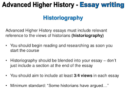historiography advanced higher history essay  mrmarrhistory 2 historiography advanced higher history essays
