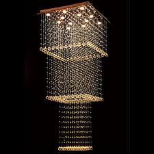 funky lighting ideas. byb modern chandelier rain drop lighting square three tiers crystal ball fixture pendant ceiling lamp funky ideas