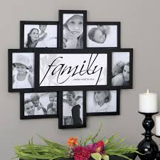 dazzling design ideas family frames wall decor home felicite 8 frame collage house on family picture frame wall art with family frames wall decor www fitful fo