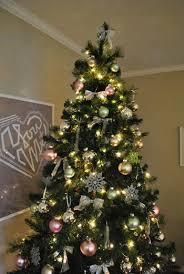 Holiday Decor: Our Green, Pink, And Metallic Christmas Tree