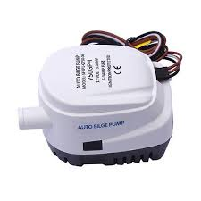 automatic submersible boat bilge water pump auto float switch 12v boat marine automatic submersible 750gph auto bilge water pump float switch