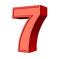Seven 7 Number · Free image on Pixabay