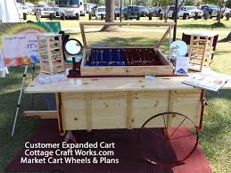market cart plans by use these plans and wheels to build an time market cart