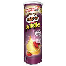 Pringles Texas BBQ Sauce Stapelchips mit