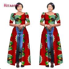 <b>Hitarget 2018 African</b> Dresses for Women Dashiki Cotton Wax Print ...