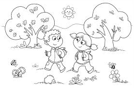 Small Picture Fall Preschool Coloring Pages Fall Coloring Pages Activities For