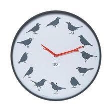 bird wall clock sound instructions st