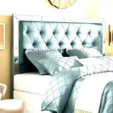 Grey Upholstered Headboard Tufted Bed Frame Queen Size Gray D Q ...