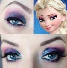 2016 glitter disney frozen elsa eye makeup for diy snow princess princess get these first disney frozen makeup you need to know