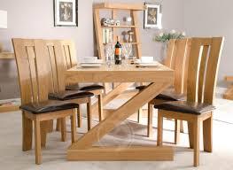 z shape solid oak 6x3 dining table