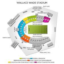 Duke Football Stadium Seating Chart Bedowntowndaytona Com