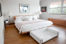 Modern Bedroom Ideas featuring Platform Bed for Women Home