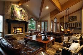 cozy living room with fireplace. Cozy Living Room With Tv Full Image Rooms Stone Fireplaces Black White Fur . Fireplace H