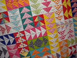 Trends from the 2013 International Quilt Market & Colorful Flying Geese Quilt Adamdwight.com