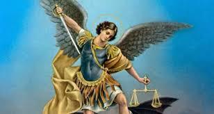 Risultati immagini per giustizia divina arcangelo michele bilancia