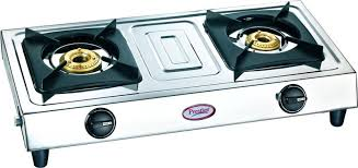gas stove. Prestige Star Stainless Steel Manual Gas Stove 5