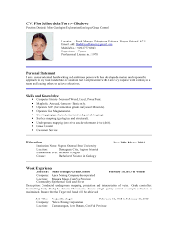 Awesome Collection of Sample Resume With Position Desired For Format Sample