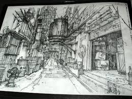 tekkon kinkreet black and white art book kuro side