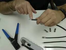 How to Prep <b>Coaxial Cable</b> and Install a <b>Compression</b> Connector ...